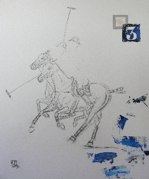 Chukkers#2 Tableaux - Polo - Graziella Bordignon